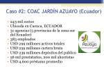 caso 2 coac jard n azuayo ecuador