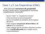 casos 1 y 2 las cooperativas coac