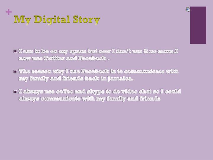 my digital story n.