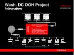 wash dc doh project integration