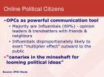 online political citizens