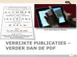 verrijkte publicaties verder dan de pdf