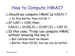 how to compute hmac1