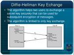 diffie hellman key echange