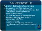 key management 3