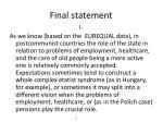 final statement