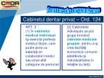 cabinetul dentar privat ord 1241