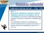 cabinetul dentar privat ord 12413