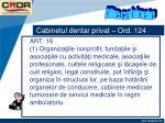 cabinetul dentar privat ord 12416