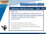 cabinetul dentar privat ord 12418