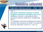 cabinetul dentar privat ord 1243