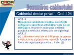 cabinetul dentar privat ord 1245
