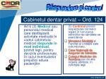 cabinetul dentar privat ord 1249