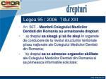 legea 95 2006 titlul xiii37