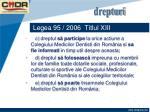 legea 95 2006 titlul xiii38