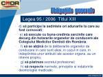 legea 95 2006 titlul xiii41