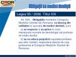 legea 95 2006 titlul xiii43