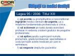 legea 95 2006 titlul xiii44