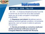 legea 95 2006 titlul xiii63