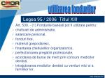 legea 95 2006 titlul xiii68