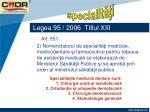 legea 95 2006 titlul xiii73