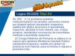 legea 95 2006 titlul xv15