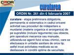 ordin nr 261 din 6 februarie 20074