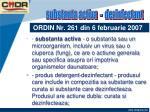 ordin nr 261 din 6 februarie 20077