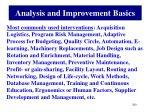 analysis and improvement basics3