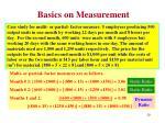 basics on measurement7