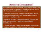 basics on measurement8