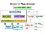 basics on measurement9
