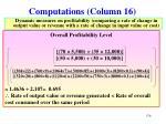 computations column 162