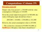 computations column 191