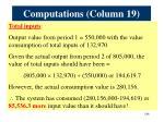 computations column 192