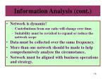 information analysis cont1