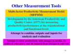 other measurement tools