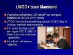 lwoo team maasland