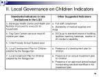 ii local governance on children indicators1