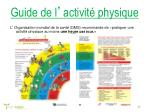 guide de l activit physique