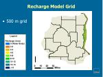 recharge model grid