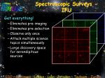 spectroscopic surveys ifu