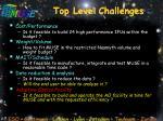top level challenges