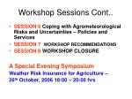 workshop sessions cont1