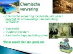 chemische verwering