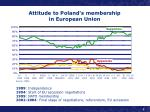 attitude to poland s membership in european union