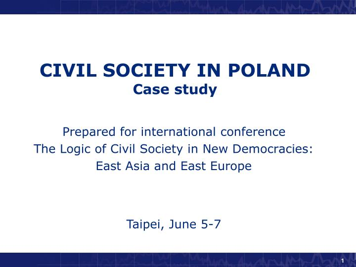 civil society in poland case study n.