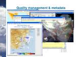 quality management metadata