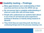usability testing findings1