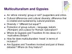 multiculturalism and gypsies